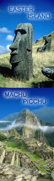 Machu Picchu and Easter Island
