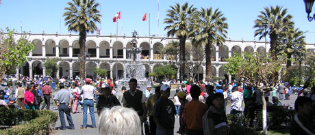 Arequipa the with city