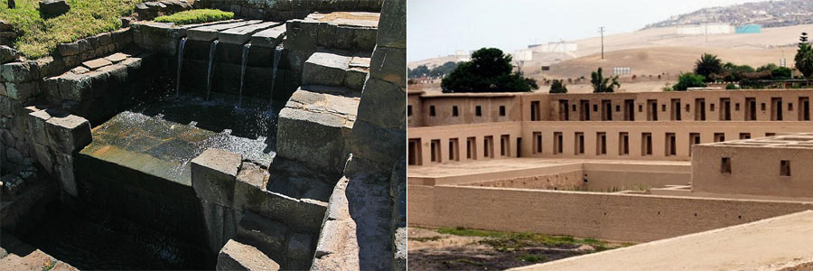 pachacamac and tipon