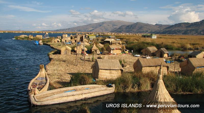 Uros Islands, Titicaca Lake, Puno, Peru